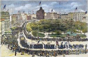 First Labor Day Parade: September 5th, 1882.